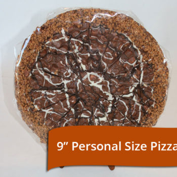 Chocolate Taffy Pizza 9""