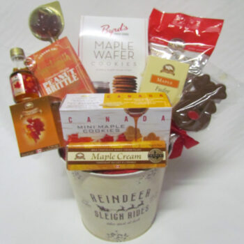 Canadiana Christmas Gift Basket