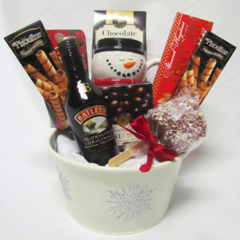 Spirited Christmas Gift Basket