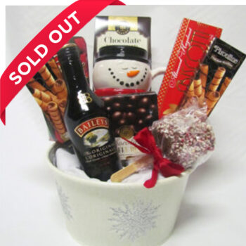 Spirited Christmas Gift Basket