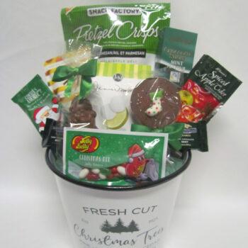 O Christmas Tree Gift Basket