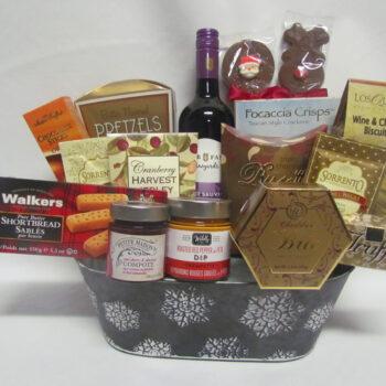 Silver Bells Gift Basket